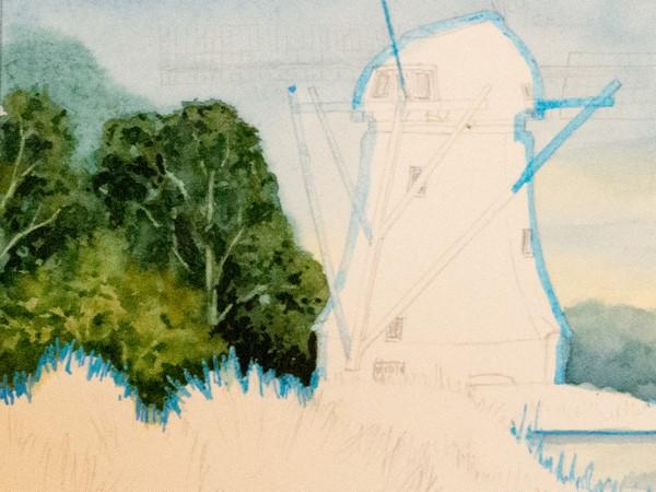 Schritt 7 - Ausarbeitung der Bäume