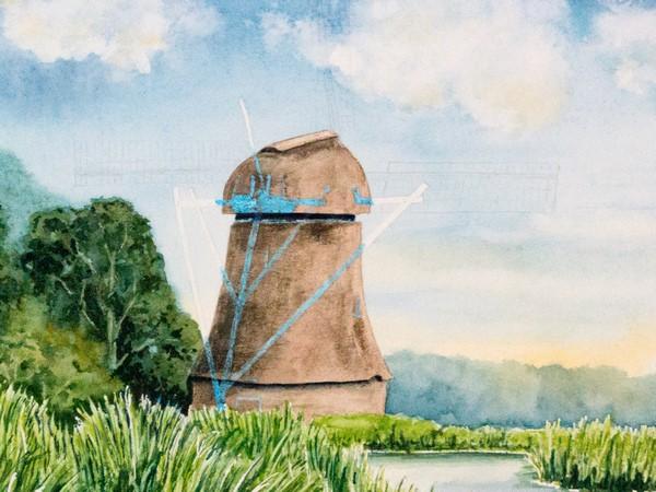 Schritt 12 - Windmühle