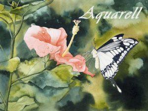 Auftragsarbeiten in Aquarell